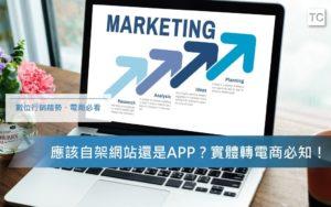 【數位行銷趨勢】實體轉電商,想要架設網站還是APP應該知道的三件事
