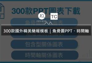 300款國外精美簡報模板|魚骨圖PPT、時間軸PPT等圖表模板