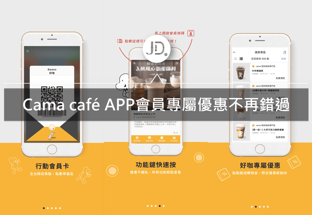 Cama café 會員制度|透過會員經營,讓消費者不再錯過優惠